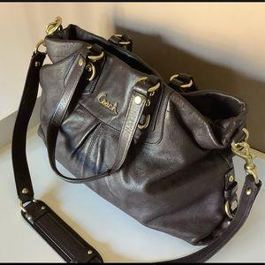 Coach Ashley Leather Carryall Bag F15513
